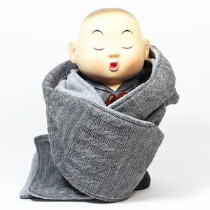 꽈배기 기모 목도리 / 불교용품, 스님목도리, 스님머플러
